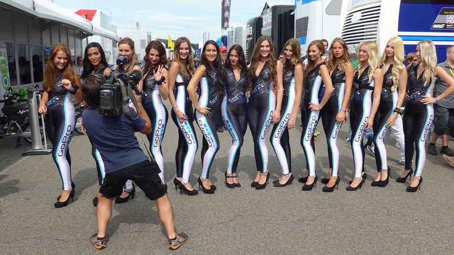 MotoGP Grid Girls eventas 5 Premium Event Staffing Agency